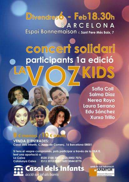 concert la VozKids2