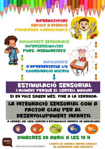 Pòster integració sensorial 29 Abril